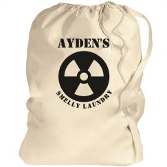 Ayden's laundry bag