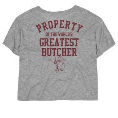Property of the world's greatest butcher