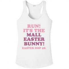 Creepy Mall Easter Bunny