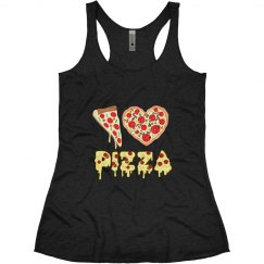 I Love Pizza Tank Top