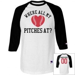 All My Baseball Pitches Funny Baseball Girl