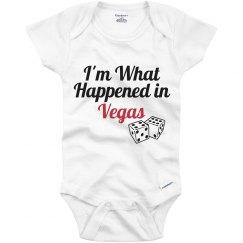 I'm what happened in vega