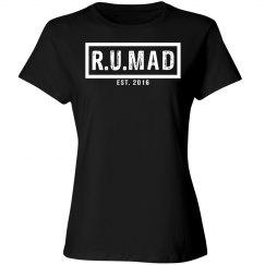 R.U.MAD [ARE YOU MAD] BLACK