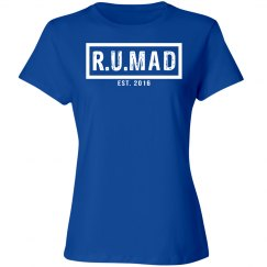R.U.MAD [ARE YOU MAD] BLUE