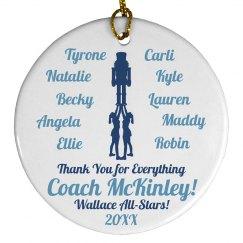 Cheer Coach Christmas Gift