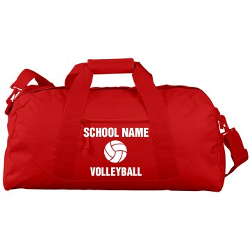 Cal High Volleyball Bag