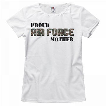 Camo Proud Air Force Mom