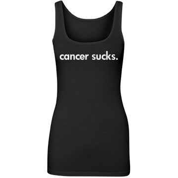 Cancer Sucks Tank