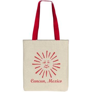 Cancun Mexico Beach Bag