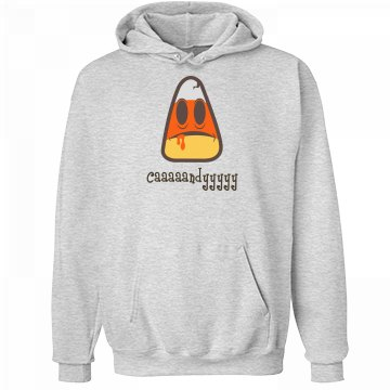 Candy Corn Zombie Hoodie