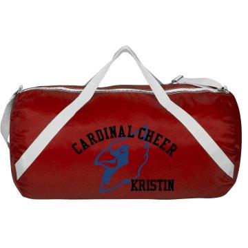 Cardinal Cheer Bag