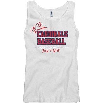 Cardinals Baseball Girl