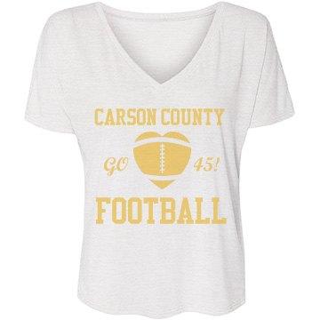 Carson Football Fan
