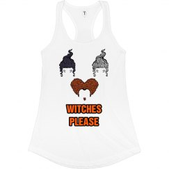 Witches Please Halloween Tank