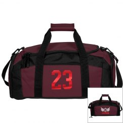 James. Football bag