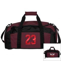 James. Football bag