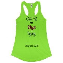 Dye Trying