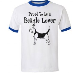 Proud beagle lover