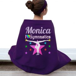 Pretty Gymnastics Blanket
