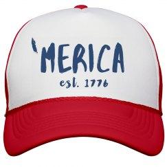 'Merican Since 1776 Hat