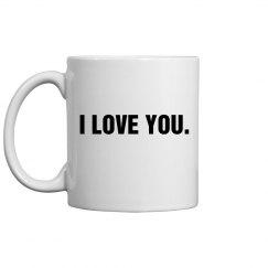 I Love You Mug