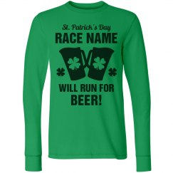 Custom Text St Patricks Run/Walk