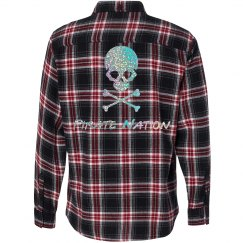 Pirate Nation Flannel