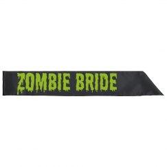 Zombie Bride Sash
