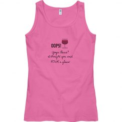 Yoga Class Tank pink