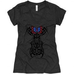 Tribal Butterfly symbol