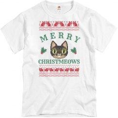 Merry Christmeows White