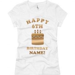 Happy 6th Birthday Elaine