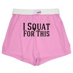 Squat for this
