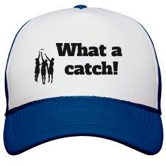 What a catch! trucker cap
