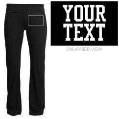 Customizable Soffe Yoga Pants