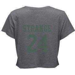 """Strange """"Jersey"""" Crop"""