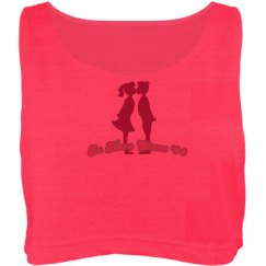 Cute For Your Boo Crop Tank