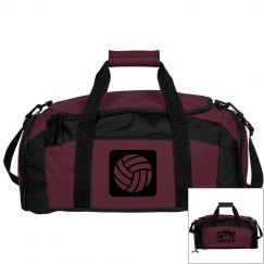 Brown Volleyball Bag