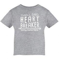 Mommy's Heart Breaker Infant Tee
