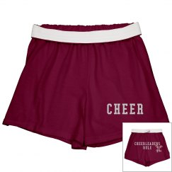 Rhinestone Cheer Shorts