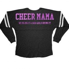 Metallic Cheer Mama