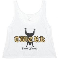 Twerk Fitness Crop Tank