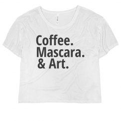 Love Coffee Mascara & Art