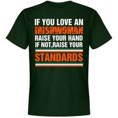 Raise your hand if you love an Irishwoman