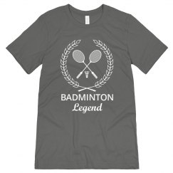 Badminton Legend shirt