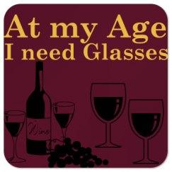 At my age, I need glasses