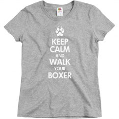 Walk your boxer