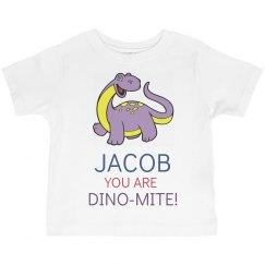 Jacob you are Dino-Mite