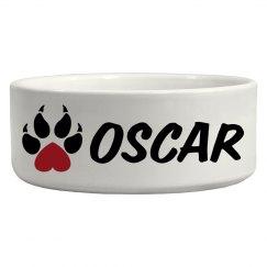 Oscar, Dog bowl