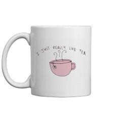 I just really like tea Mug